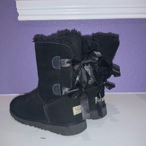 Black UGG boots Size 10